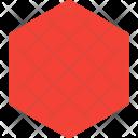 Hexagon Shapes Icon