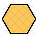 Hexagon Shape Hexagon Sign Shape Icon