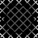 Hexagon Bonding Hexagonal Shapes Icon