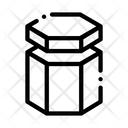 Hexagon Container Icon