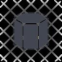 Hexagon Shape Hexagone Shape Icon