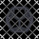 Hexagon Geometry Geometry Hexagon Icon