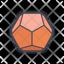 Hexagon Geometry Icon