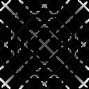 Hexagon Maze Labyrinth Concept Maze Icon