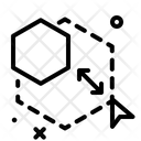 Hexagon Scale Icon