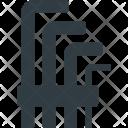 Hexagon seat Icon