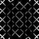Hexagonal Cylinder Icon