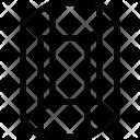 Hexagonal cylindrical Icon
