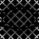 Hexagonal frame Icon
