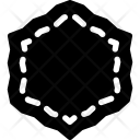 Hexagonal frame Icon