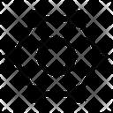 Hexagonal Molecule Icon