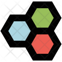 Hexagonal structure Icon