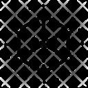 Hexagonal Structure Carbon Structure Hexagonal Molecule Icon