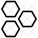Hexagone Honeycomb Cell Icon