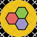 Hexagons Hexagonal Pattern Icon