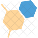 Hexagons Molecular Structure Icon