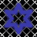 Hexagram Jewish Judaism Icon