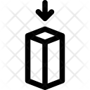 Hexahedron Enter Place Icon