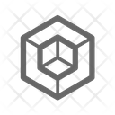 Hexahedron Icon
