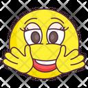 Hey You Emoji Greeting Expression Emotag Icon