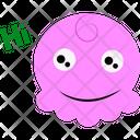 Pink Cartoon Icon