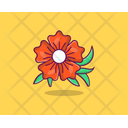 Hibiscus Spring Flower Agriculture Icon