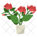 Hibiscus Flower Plant Icon