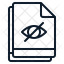 Multiple File Hidden Icon