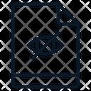 File Hidden Visibility Icon
