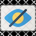 Visible Eye Design Curve Icon