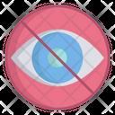 Artboard No Vie No Vision Icon