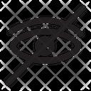 Hidden Hide Eye Icon