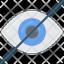 Hidden View Hide Icon