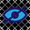 Blind Hidden Hide Icon