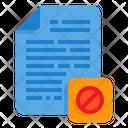 Hidden File Hidden Paper Icon