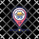 Hidden IP Address Icon