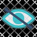 Hide Eye Private Icon