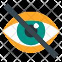 Hide Eye Vision Icon