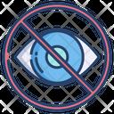 Hide No Vision Hidden Icon