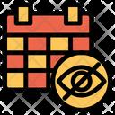 Hide Calendar Icon