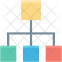 Hierarchical Structure Hierarchy Icon
