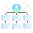 Hierarchical Structure Icon