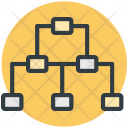 Hierarchy Chart Topology Icon