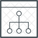 Hierarchy Share Network Icon