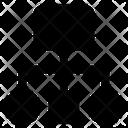 Hierarchy Flowchart Network Diagram Icon
