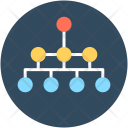 Hierarchy Sitemap Networking Icon