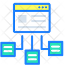 Hierarchy Flow Content Icon