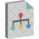 Hierarchy Network Structure Icon