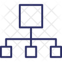 Hierarchy Hierarchical Structure Network Icon