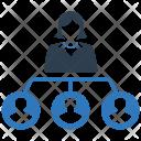 Structure Team Organization Icon